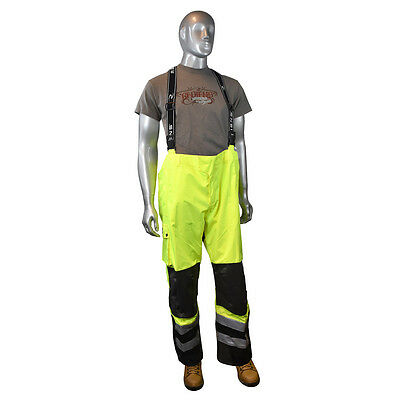 Radians RW32-EZ1Y Heavy Duty Rip Stop Waterproof Pants with Bib