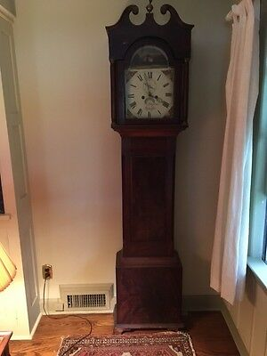 Antique English Tall Case / Grandfather Clock