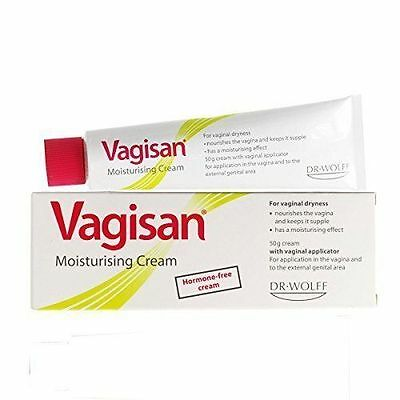 VAGISAN Vaginal Dryness Moisturising Cream 50g -  1, 2, or 3 Packs