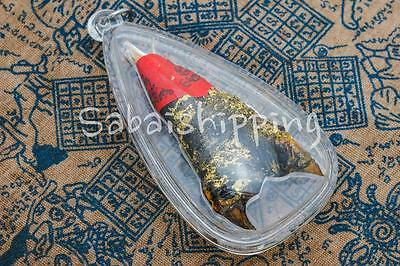 King Of Duei Ngoo Lueam Snake With Red Yant Yantra Thai Amulet Lucky Pendant 01