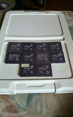 10 amd k5 cpus have bent pins and sold for gold recovery