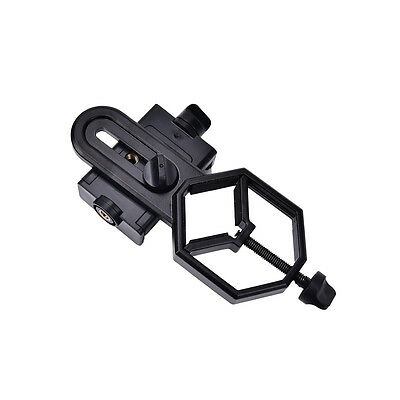 Cell Phone Adapter Holder Mount for Binocular Monocular Spot Scope Telescope EV