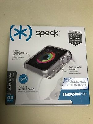 Speck CandyShell FIT For Apple Watch - 42mm - New 75227-5085