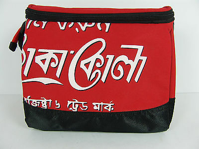 Coca Cola Coke Insulated Lunch Tote Bag Cooler Bangladesh Soft Side Zipper