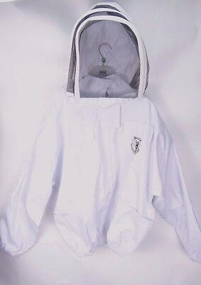 Buzz Workwear Bee Keeping Jacket White 2XL