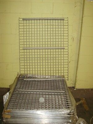 "36 x 42"" Wire Mesh Deck For Pallet Rack. 15-20 various uprights/ cross seperatly"