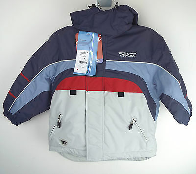 Brugi Ski Jacket + Trousers suit Grey - Red - Blue Age / Size 3 RRP:£70