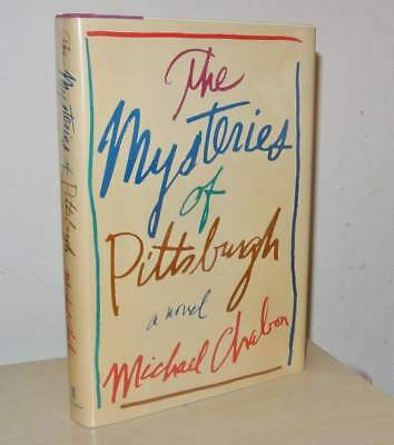 THE MYSTERIES OF PITTSBURGH * SIGNED by Michael Chabon 1st/1st Edition + PROOF