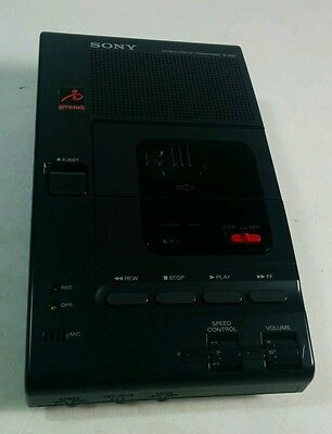 SONY M-2000 Microcassette Transcriber BROKEN-FOR PARTS OR REPAIR (AS-IS)