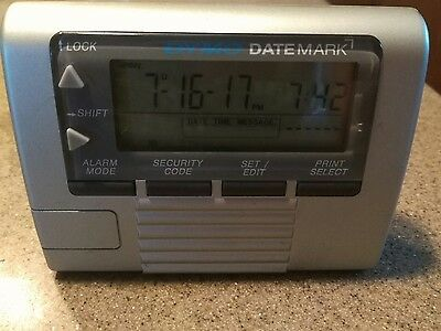 DYMO DateMark Electronic Date/Time Stamper (47002) with extra roller