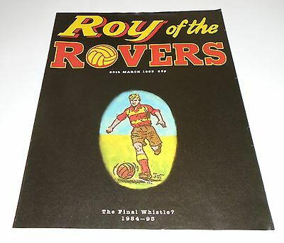 ROY OF THE ROVERS Comic LAST ISSUE. 20/03/1993. Key Issues UK Comic  (Very Fine)