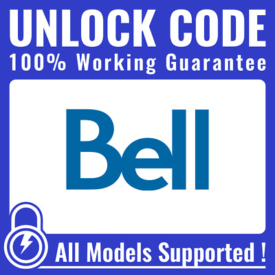 Unlock CODE for Bell & Virgin Mobile Canada - All Android Samsung LG HTC