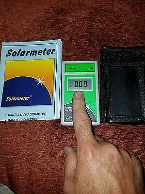 Solarmeter Model 6.2 Sensitive UVB Meter For Reptile Lamps Measures 280...