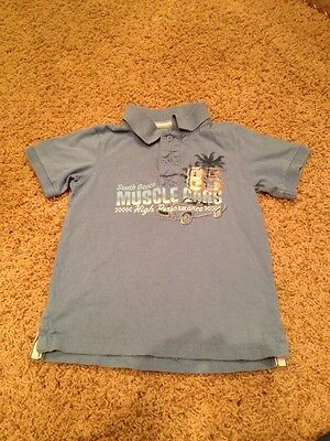 Sonoma Graphic Polo Size 4/4T Muscle Hot Rod Car South Beach