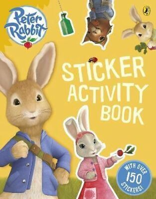 NEW Peter Rabbit Sticker Activity Book By Beatrix Potter Paperback Free Shipping