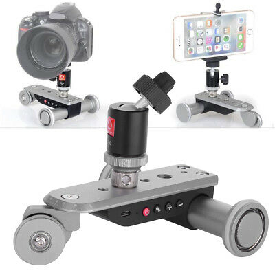 Pro Motorized Electric Track Slider Dolly Car For Video Pulley Rolling Camera