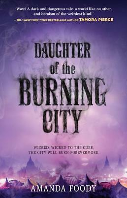 NEW DAUGHTER OF THE BURNING CITY By Amanda Foody Paperback Free Shipping