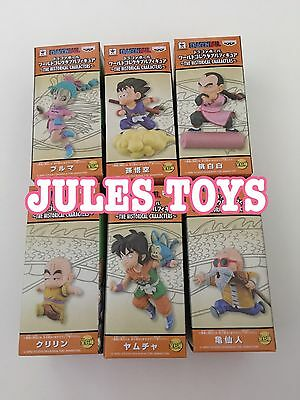 Dragon Ball Super World Collectable WCF ANIME 30th Anniversary Vol.1 1 Set of 6