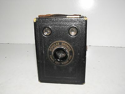 "Kodak Popular Brownie Film Camera ""In Good Vintage Condition"""