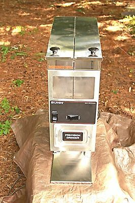Bunn Commercial Coffee Grinder G9-2T Hd  (Excellent Condition)