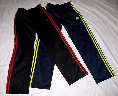2 New Boys Adidas Athletic Pants Size Y Large- Back To School!