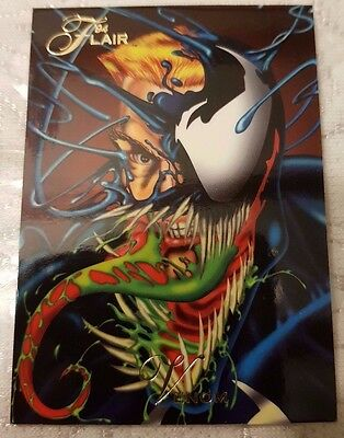 Marvel Flair #61 VENOM 1994 Flair Trading Card