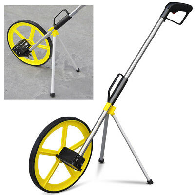 Distance Measuring Wheel with Stand in Bag Surveyors Builders Road Land Foldable