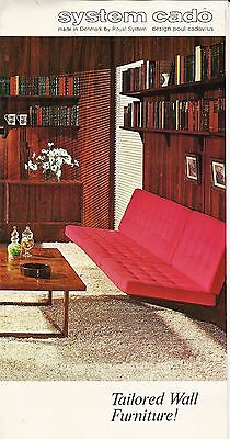 Mid Century System Cado Tailored Wall Furniture Sales Brochure