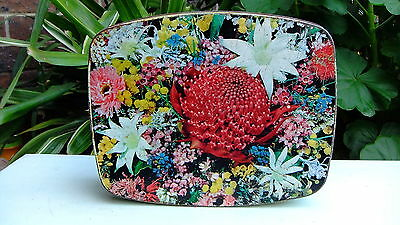 Vintage Brockhoff Biscuit Tin - Australian Wildflower Series