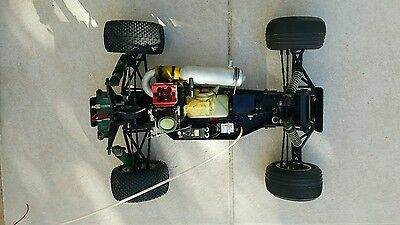 team associated rc10 gt 1:10 scale competition rc gas truck