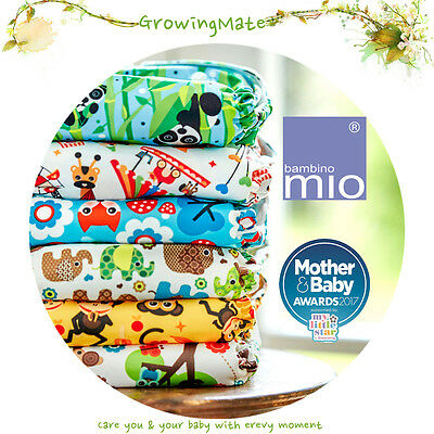 Bambino Mio All-in-one Nappy Baby Onesize Nappy Cloth Nappies
