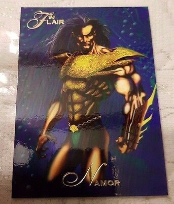 Marvel Flair #105 NAMOR 1994 Flair Trading Card