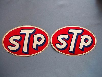 STP stickers Indy Cars Vintage Item