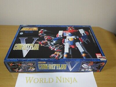 NEW Unused Soul of Chogokin GX-03 Combattler V Bandai From Japan Mazinger GX-03