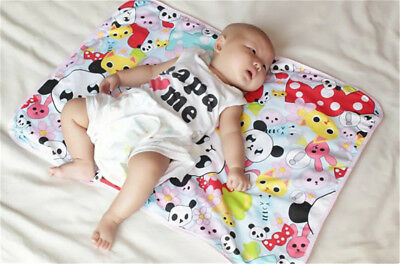 New  Infant Diaper Nappy Urine Mat Kid Waterproof Bedding Changing Cover Pad