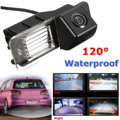 Waterproof Car Rear View Camera Reverse Night Vision Cam For VW Golf MK6 GTI MK7