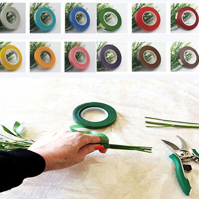 New Florist Floral Stem Garland Tapes Artificial Flower Stamen Wrap Decor Wreath