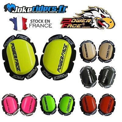 2x Sliders Bois POWER FACE - Protection moto piste - Powerface - 6 Couleurs !