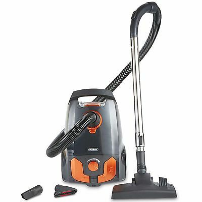 VonHaus Bagged Cylinder Vacuum Cleaner 1400W - 2.5L Compact & Powerful Suction