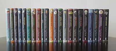 Terry Pratchett Collectors Editions. Full set of 22 books. All signed by Terry.