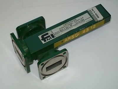 FMI FLANN MICROWAVE WR90 X band 8.2 12 ghz 20 db cross coupler 10 ghz ham band