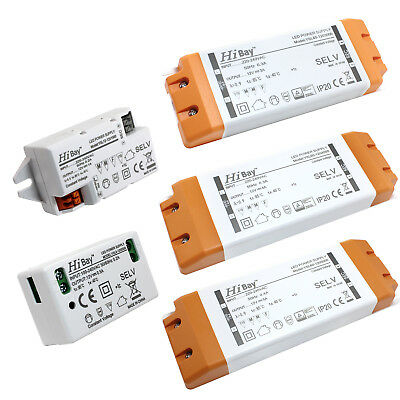 DC12V 6W ~ 60W LED Driver Power Supply Transformer for LED Strip/ G4/ MR11 /MR16