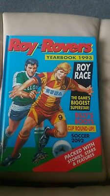 roy of the rovers annual 1993