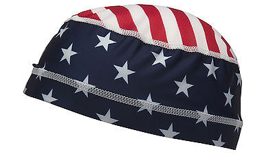 Skull Cap Liner for Hard Hat - Americal Flag CHK1FLG  811907027836
