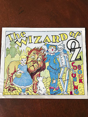 Vintage Swift Peanut Butter Wizard of Oz Coloring Book