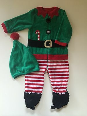 *Baby Clothes/boys Mothercare Christmas Outfit 6/9 Months *(Save & Combine Post)