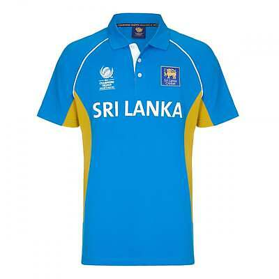 Official ICC Champions Trophy 2017 Sri Lanka Jersey/ Polo Shirt