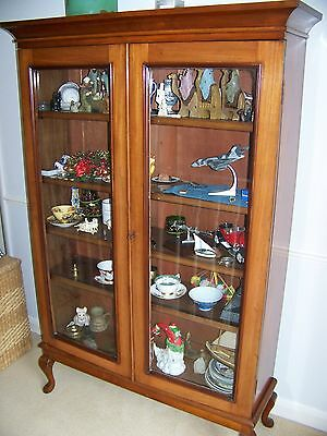 Antique Edwardian in Solid Mahogany Bookcase