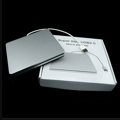 Notebook Type Suction USB 2.0 Slot In DVDRW DVD Writer External Drives Box TF