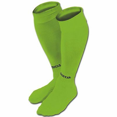 JOMA CLASSIC II FOOTBALL SOCKS - FLUO GREEN - various sizes - colour code 020